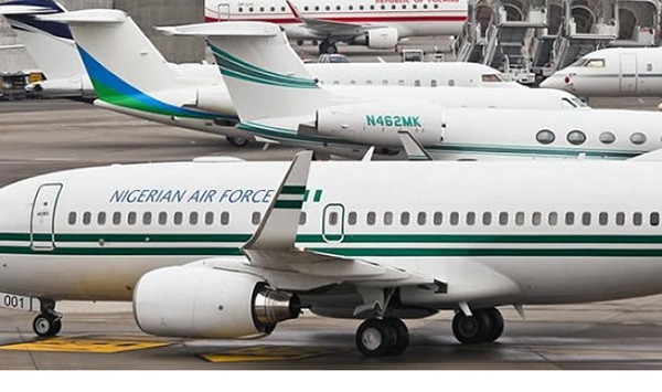 FG places nine-year presidential jet on sale