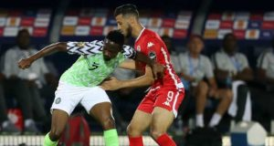 Nigeria wobble to 1-1 draw with Tunisia