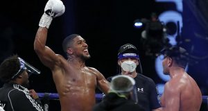 Anthony Joshua reveals retirement date