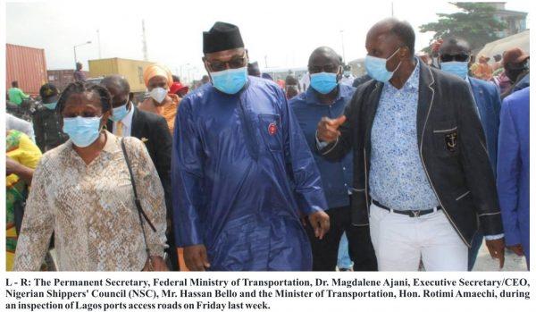 Lagos Ports Access Crisis: Amaechi Meets Relevant Agencies Next Month