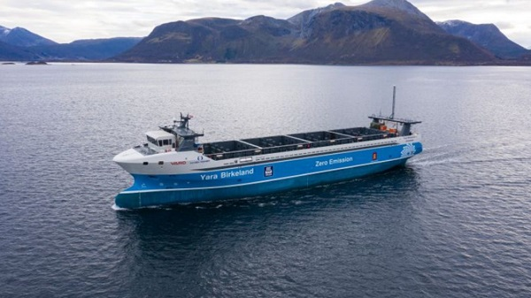 World's first zero-emission container vessel delivered