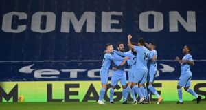 Five-star Man City move top of the Premier League