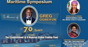 Ogbeifun @70: Saraki, Usoro, Others To Speak At Maritime Summit