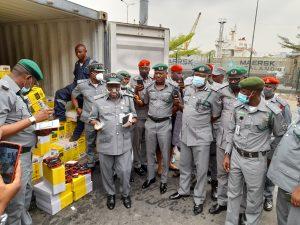 Apapa Customs Intercepts Tramadol, Used Clothing, Others Worth N223m