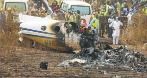 How Pilot Killed Self, 6 Others In Military Plane Crash