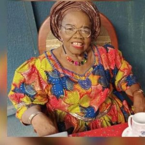 Pioneer NIMASA DG 'Usoro' Loses Mum