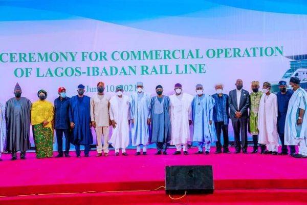 Buhari Commissions Lagos-Ibadan Rail, Deep Blue Project