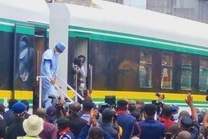 Buhari Assures Railway Connection To Tin Can Island Port
