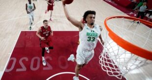 Tokyo Olympics: Jordan Nwora's 33 points not enough as D'Tigers go down to Germany