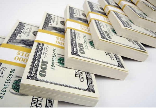 External reserves drop by $180m in two weeks
