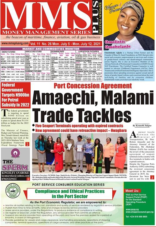 MMS Plus Newspaper Vol 11, No 26
