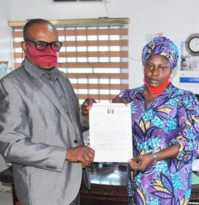 NDLEA Makes NIWA Lagos Boss An Ambassador