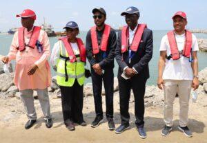 Amaechi Leads Maritime CEOs To Inspect Lekki Deep Seaport