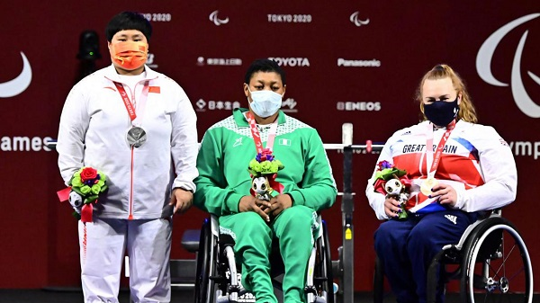 Team Nigeria now 29th as Oluwafumiayo wins gold, sets new world record