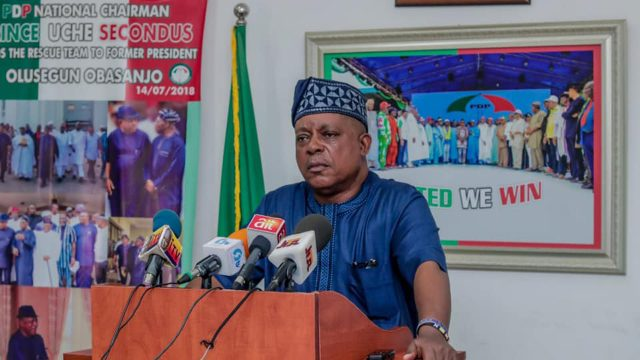 PDP in a mess as two acting chairmen surface