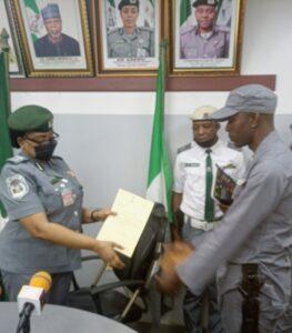 Customs CG Lauds Idiroko Customs, 17 Officers Receive Commendation Letters