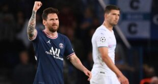Messi off the mark for PSG in Champions League win over Man City