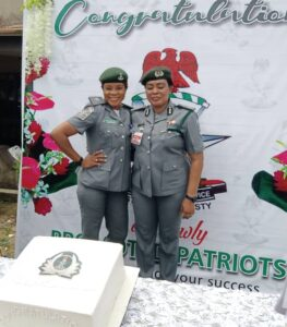 Zone A Coordinator, Aremu Decorates Promoted Officers