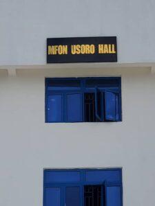 Saraki Commissions Mfon Usoro Hall At MAN Oron