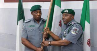 Comptroller Nnadi Takes Over Leadership At Ogun 1 Customs Command