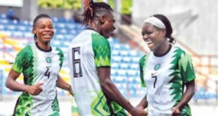 2022 AWCON qualifiers: Falcons beat Ghana 2-0 in Lagos