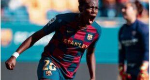 Oshoala rated Barca Femeni 8th most expensive player