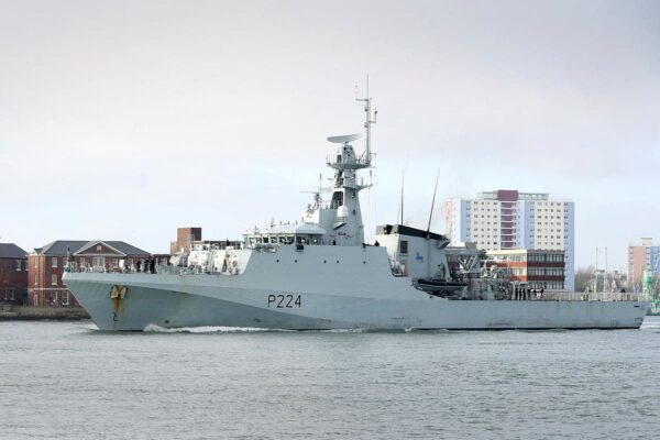 Maritime security: UK ship sails for Nigeria, Ghana, three others