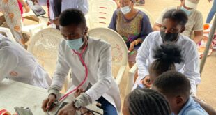 2021 Taiwo Afolabi Rural Dental Outreach held at Gbagi Market, Ibadan